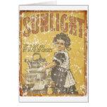 Sunlight Soap - 1873- distressed Card