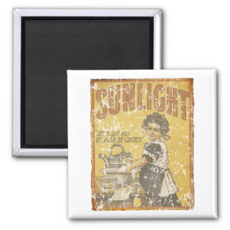 Sunlight Soap - 1873- distressed Magnet
