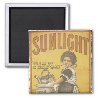 Sunlight Soap - 1873 Square Magnet
