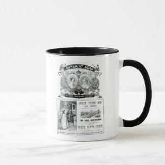 Sunlight Soap advertisement Mug