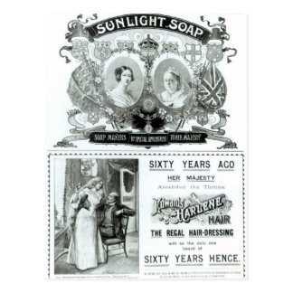 Sunlight Soap advertisement Postcard