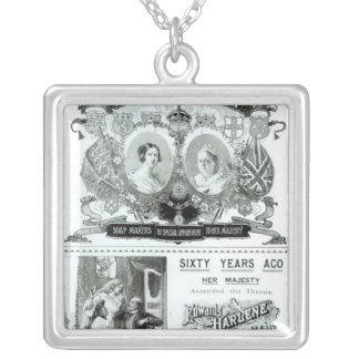 Sunlight Soap advertisement Silver Plated Necklace
