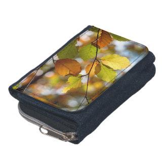 Sunlight Through Autumn Leaves Wallet