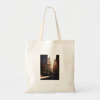 Sunlight Through Skyscrapers, New York City Canvas Bags