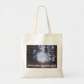 Sunlight through the trees tote budget tote bag