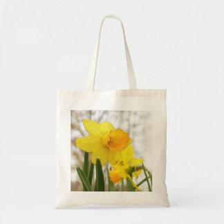 Sunlit Daffodils Tote Bag