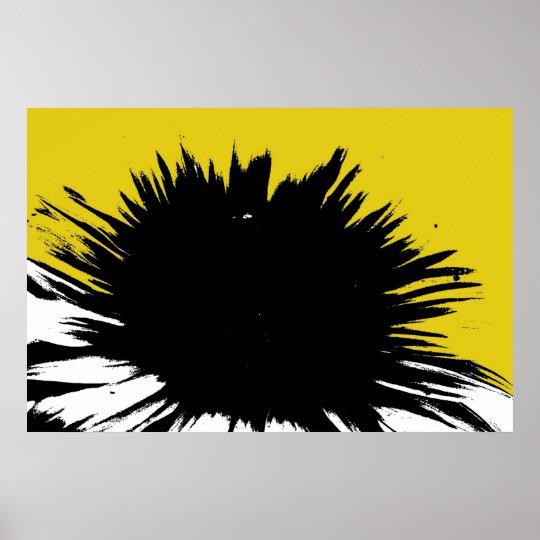 Sunlit Flower Poster