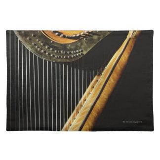 Sunlit Harp Placemat