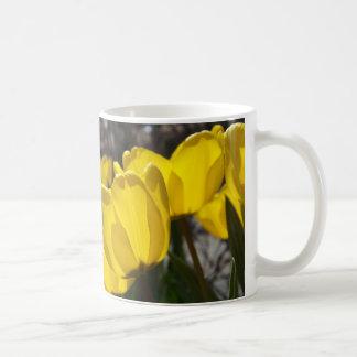 Sunlit Tulips Coffee Mug
