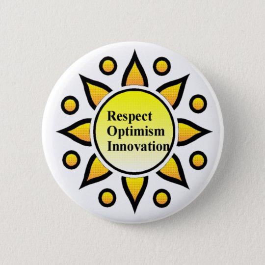 sunlogo 6 cm round badge