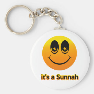 Sunnah Basic Round Button Key Ring