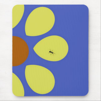 sunny ant mouse pad