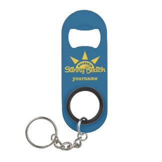 Sunny Beach BULGARIA custom bottle opener