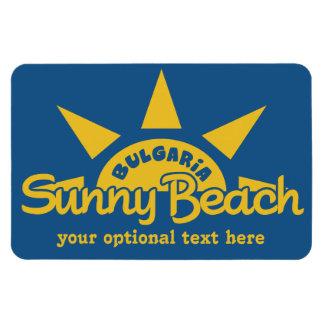 Sunny Beach BULGARIA custom text & color magnet