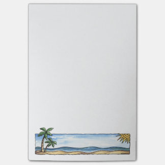 Sunny Beach Post-it® Notes