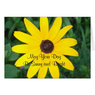 Sunny Birthday Black Eyed Susan Greeting Card