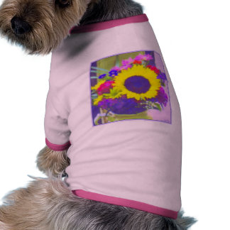 Sunny Bouquet Pet T-shirt
