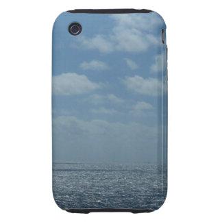 Sunny Caribbean Sea Blue Ocean Tough iPhone 3 Cover