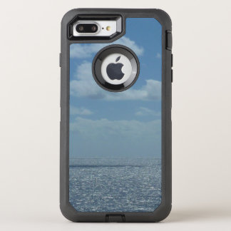 Sunny Caribbean Sea Blue Ocean OtterBox Defender iPhone 8 Plus/7 Plus Case
