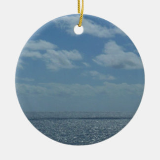 Sunny Caribbean Sea Ornament