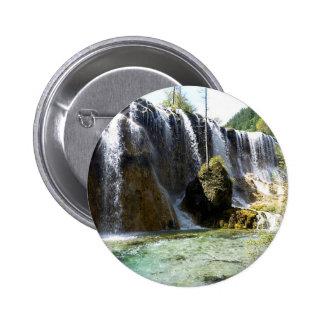Sunny Cascade 6 Cm Round Badge