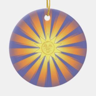Sunny Christmas ornament