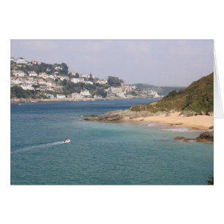 Sunny Cove, Salcombe, Devon Greeting Card