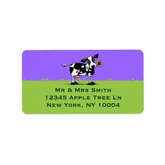 Sunny Cow Blue Sky Label