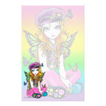 """Sunny"" Cute Rainbow Butterfly Fairy Stationery"