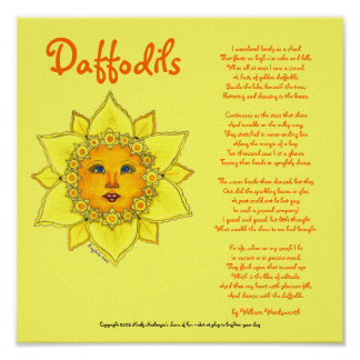 Sunny Daffodil - Poster