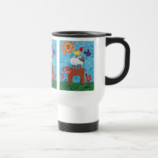 Sunny Day at the farm Stainless Steel Travel Mug