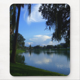 Sunny Day at the Park Mouse Pad