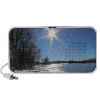 Sunny Day at the River iPhone Speaker
