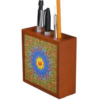 Sunny Day Colorful Desk Organizer Pencil Holder