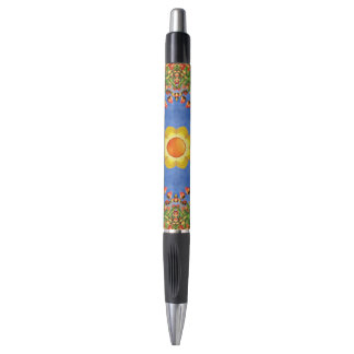 Sunny Day Colorful  - Emmy Rubber Grip Pen