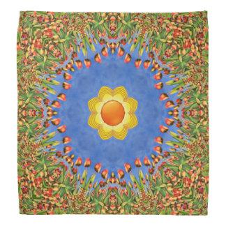Sunny Day Colorful Kaleidoscope Bandana