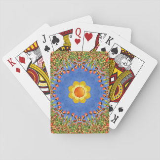 Sunny Day Colorful Playing Cards