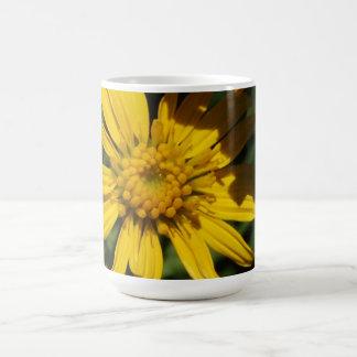 Sunny Day Flowers Basic White Mug