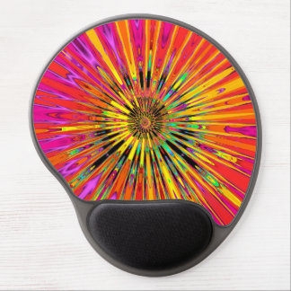Sunny Day Fractal Gel Mouse Pad