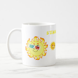 SUNNY DAY HAPPY FACES COFFEE MUG