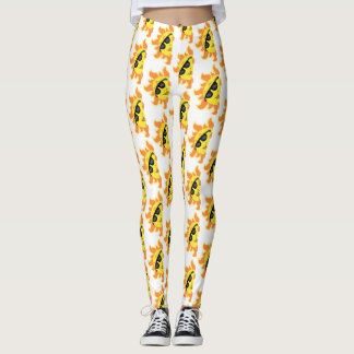 SUNNY DAY HAPPY FACES LEGGINGS