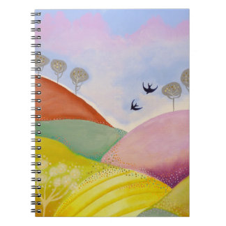 Sunny Day in the Country. Spiral Notebooks