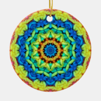 Sunny Day Kaleidoscope Christmas Ornament