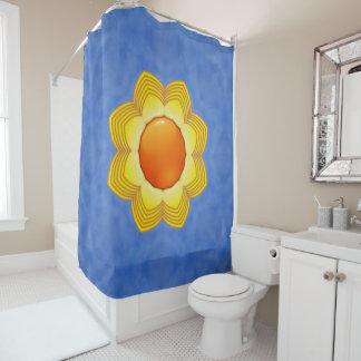 Sunny Day Kaleidoscope  Vintage Shower Curtain