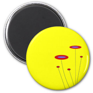 Sunny Day 6 Cm Round Magnet