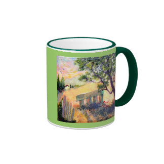 Sunny Day Ringer Mug