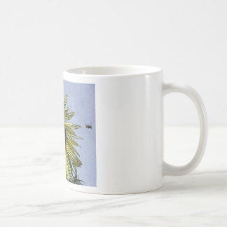 Sunny Day Sunflower Basic White Mug