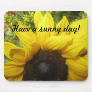 Sunny Day Sunflower Mouse Pad
