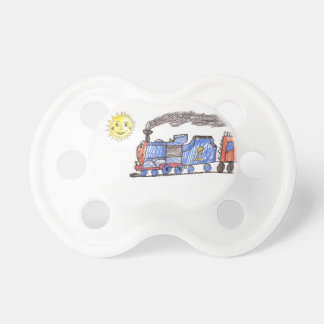 Sunny Day Train Pacificer Pacifier