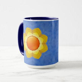Sunny Day Vintage Kaleidoscope  Combo Mug